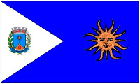 Bandeira da cidade de Araraquara - SP